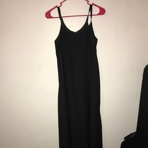 {savvey} maxi black dress